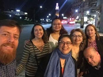 Nós pudemos dividir essa viagem com a excelente companhia da Renata Veríssimo (EMTU), Olívia Aroucha e Fernando Caires (SPTRANS), equipe da UITP América Latina (Jurandir Fernandes, Eleonora Pazos, Bruna Santos e Fabiana Morelli) e a secretária de mobilidade urbana de Natal (Elequicina Santos).